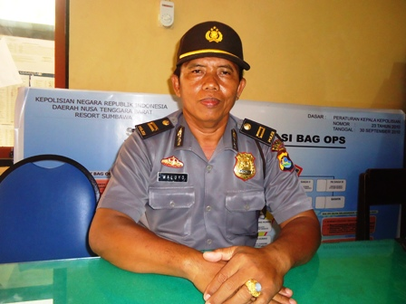 IPDA Waluyo, Kasubag Humas Polres Sumbawa