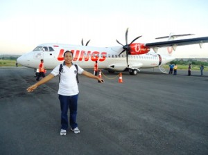 Wings Air mendarat 1