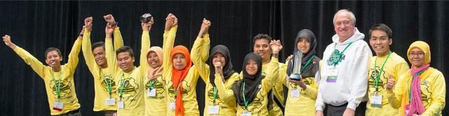 Mahasiswa FTB Rebut 4 Penghargaan Dunia di Amerika