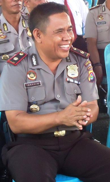 Kapolsek Alas, Kompol Ibrahim