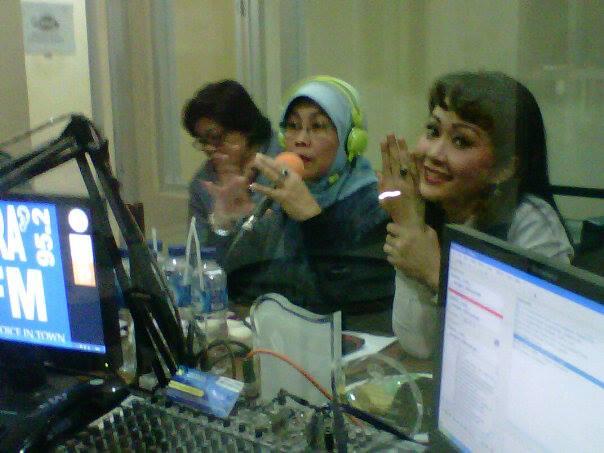 Duta KAT Dialog Interaktif di Radio Osivira FM, Jalan Kartini Sumbawa