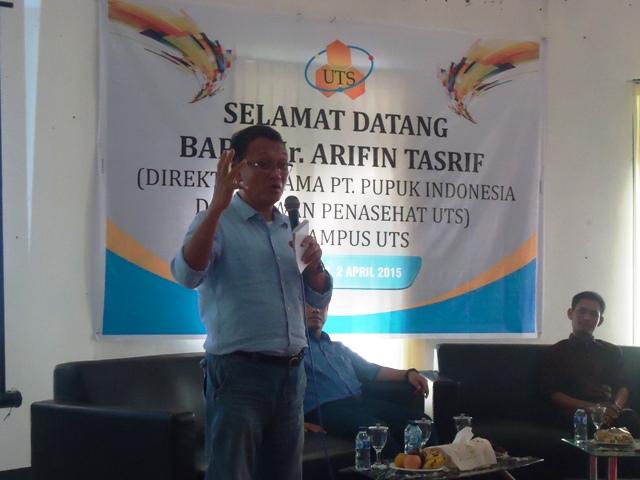 Ir Arifin Tasrif, Dirut PT Pupuk Indonesia