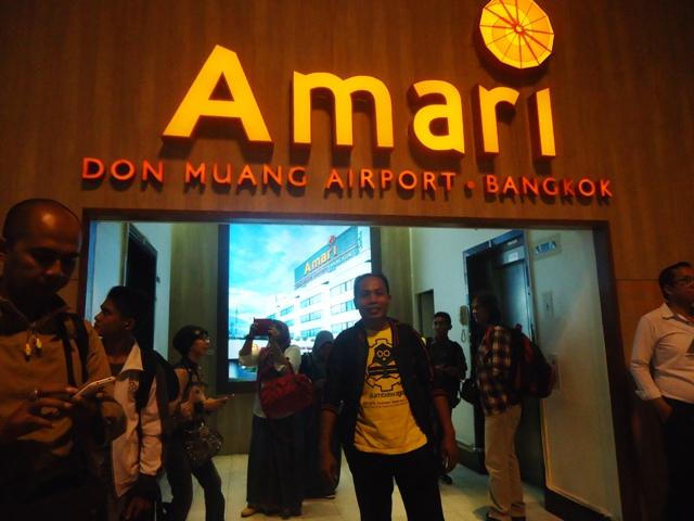 Tiba di Bandara Don Muang bangkok