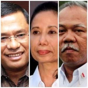 Tiga Menteri