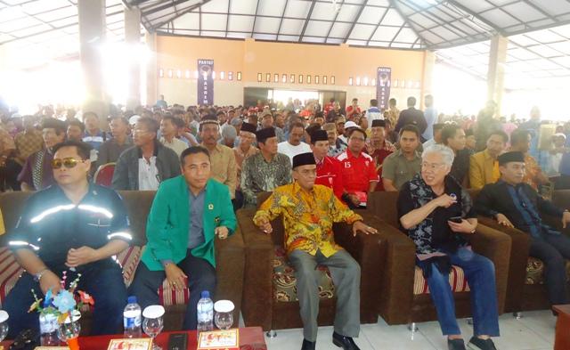 Ketua DPD PPP Sumbawa, kamaluddin ST M.Si bersama Calon Bupati H Asaat Abdullah ST