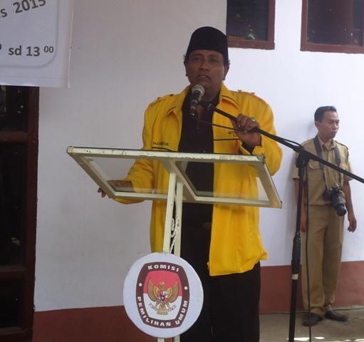 Drs A Rahman Alamudy SH M.Si, Ketua Golkar Sumbawa