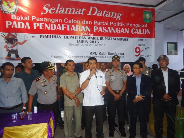 Burhanuddin Jafar Salam SH, Ketua DPD PAN Sumbawa