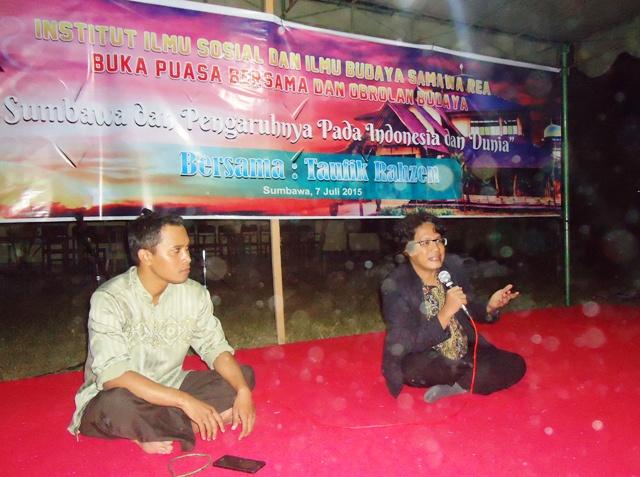 Taufik Rahzen, Budayawan Nasional asal Sumbawa