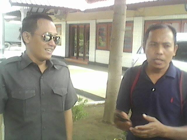 Kasat Reskrim, IPTU Tri Prasetiyo saat diwawancarai wartawan