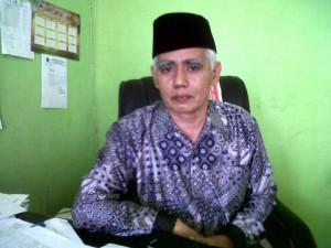Kepala Kemenag KSB, Drs H Syarifuddin,MM