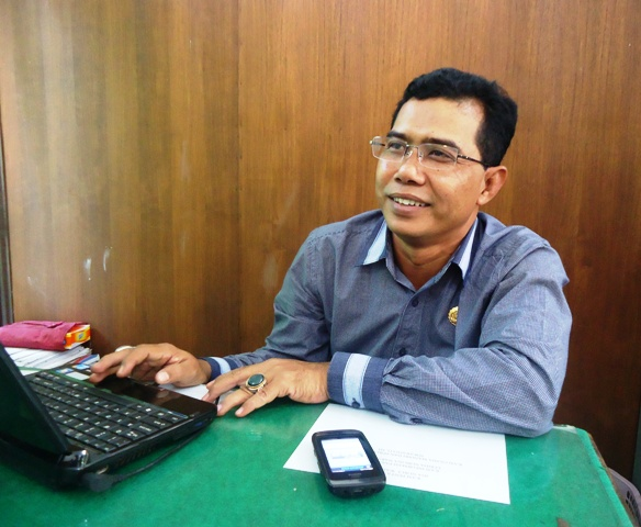 Kabid Penta Disnakertrans Sumbawa, Z Arifin SPt. M.Si