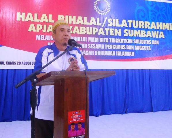Ridha Husain, Ketua DPC APJATI Sumbawa