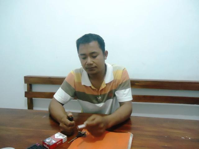 Zulkarnain, Karyawan CV Sekawan Sejati, salah satu korban perampokan