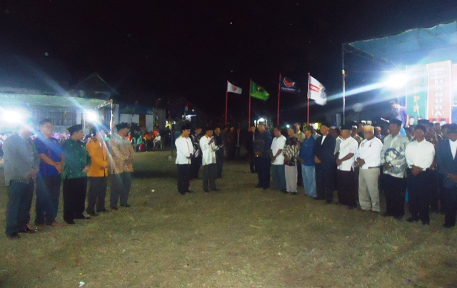 Pengukuhan Tim pemenangan kecamatan Saat-Jaya