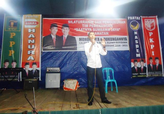 Suharto SH M.Si, Orator Ulung