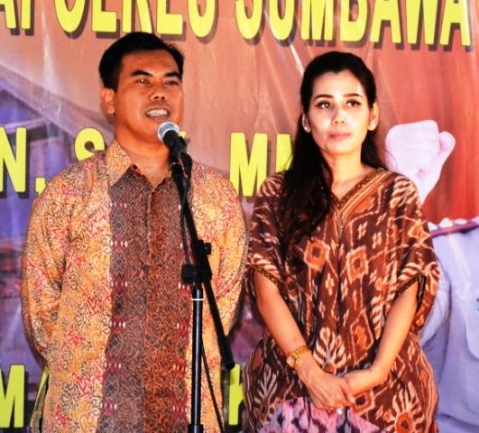 AKBP Muhammad SIK dan istri kini jadi Tau Samawa