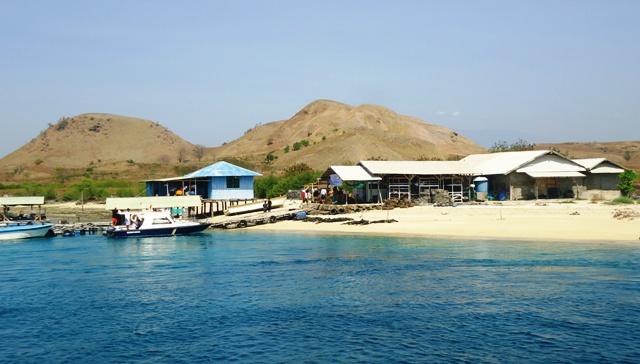 Perusahaan budidaya mutiara di Pulau Kalong