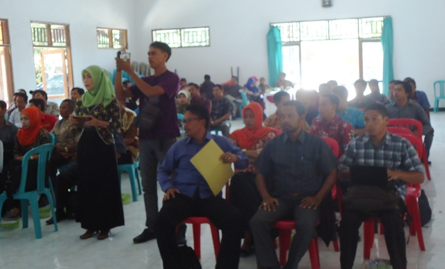 Suasana rapat Pleno DPT Sumbawa