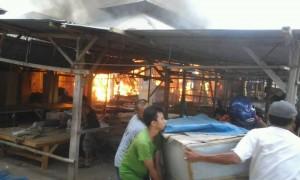 Pasar Empang terbakar 2