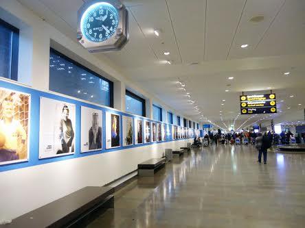 . Stockholm Wall of Fame di Bandara Airlanda, Stockholm, Swedia (foto asli penulis)