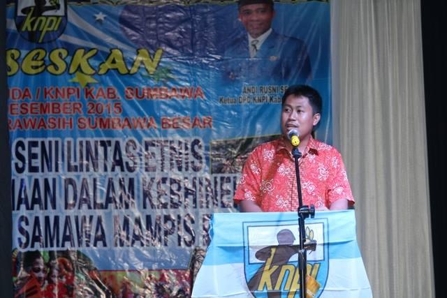 Bambang Wahyudi S.Pd, Ketua Panitia Penyelenggara