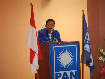 Ketua Panitia Musda IV PAN Sumbawa, Salman Alfarizi SH