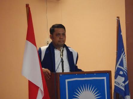 Burhanuddin Jafar Salam SH, untuk ketiga kalinya dipercaya pimpin PAN Sumbawa