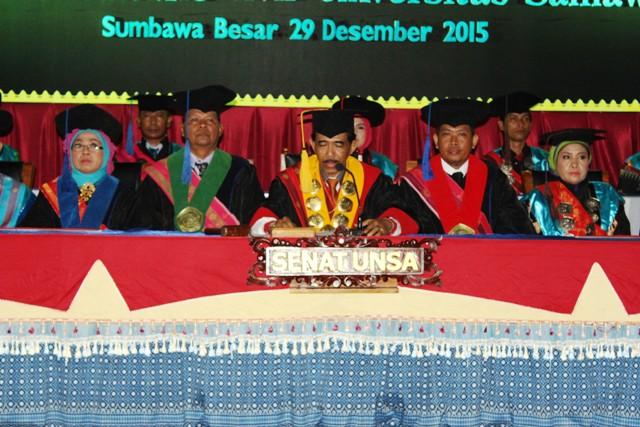 Rektor UNSA, Prof Dr Syaifuddin Iskandar M.Pd