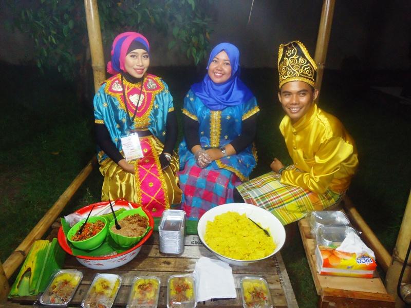 Gecok, salah satu makanan khas Sumbawa untuk AUYS 2016