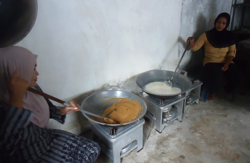 pembuatan permen susu