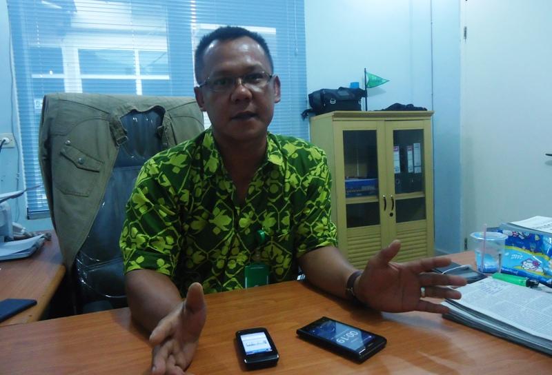 Agus Syaifullah, Manager Rayon Samawarea PLN Sumbawa