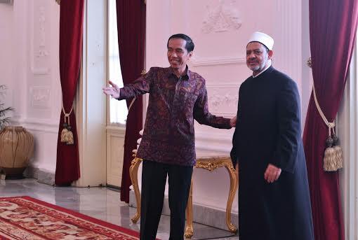 Jokowi Terima Tamu 2