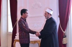 Jokowi Terima Tamu