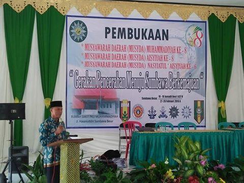 Ust H Faisal Salim S.Ag, Ketua Muhammadiyah Sumbawa
