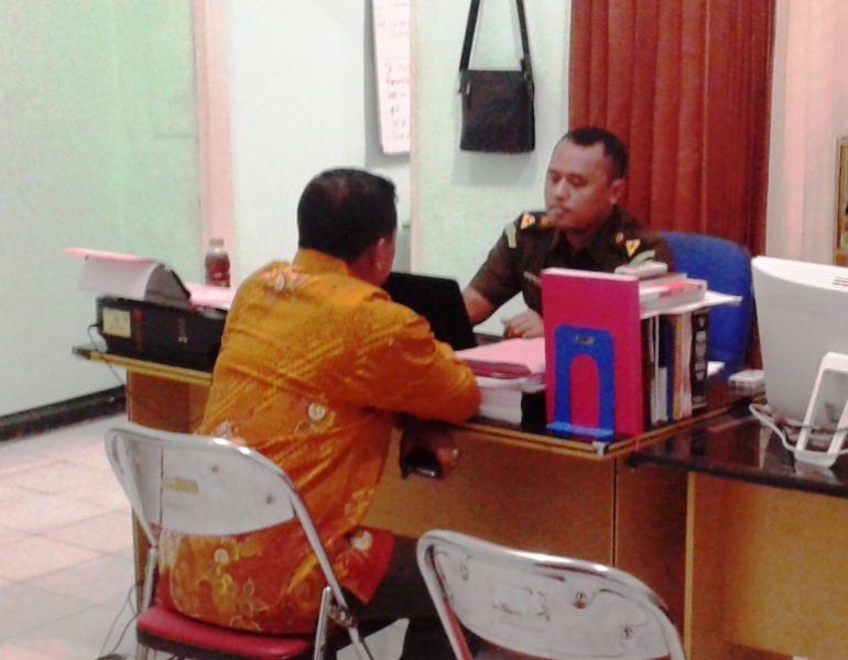 Syamsuddin Biok saat hendak dieksekusi