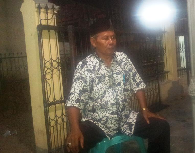 Subarjo, Ketua RT 01 RW 09 Kelurahan Brang Biji