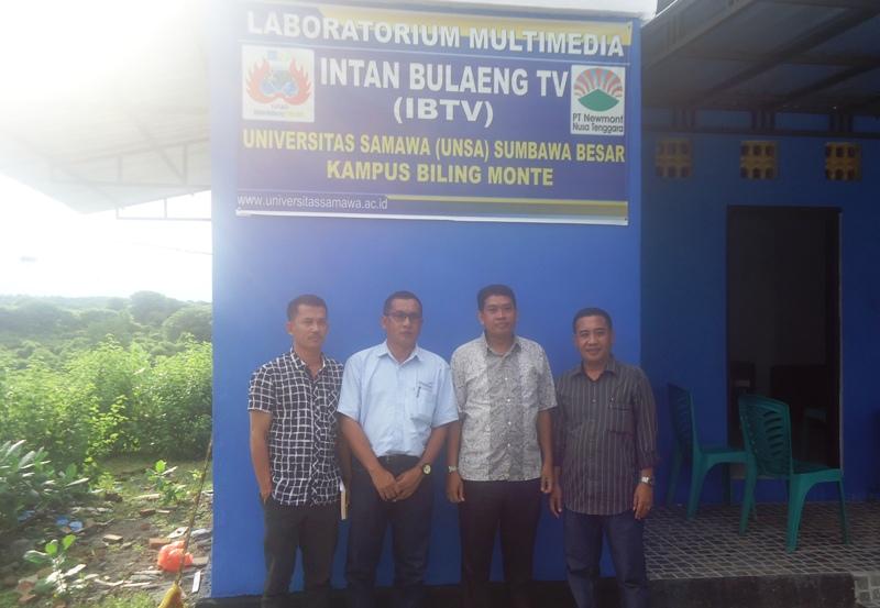 Warek III UNSA, Dr Budi Prayitno didampingi Tim Supervisi PTNNT