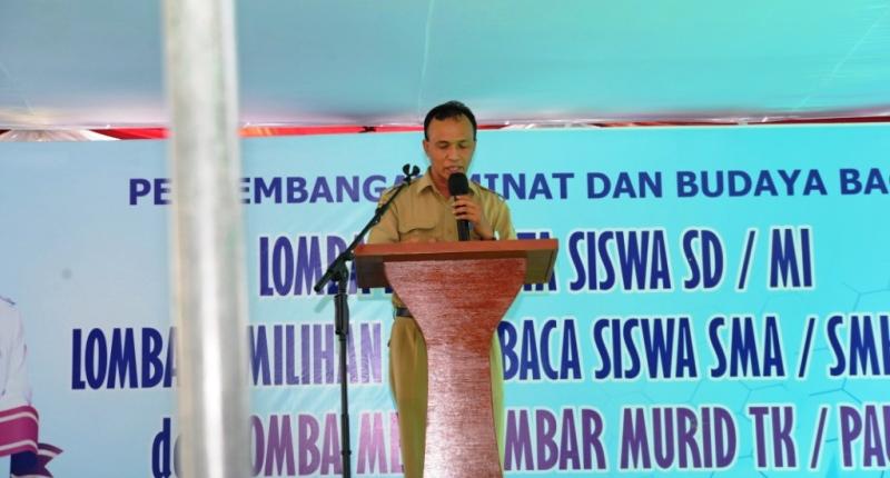 Kepala Arpusda Sumbawa, H Syahril S.Pd M.Pd