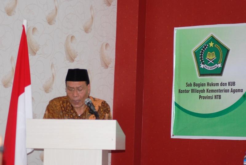 Kakanwil Kemenag NTB, H Sulaiman Hamid