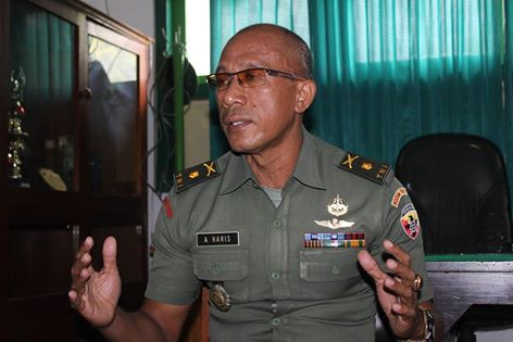 Kasdim 1607 Sumbawa, Mayor Inf Abdul Haris SH MH