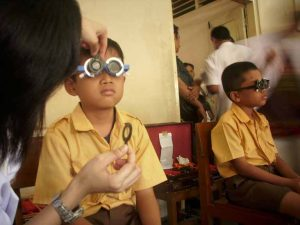 anak Penderita mata 1