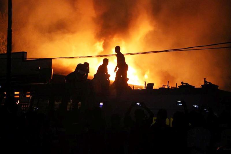 Kebakaran Gudang 1