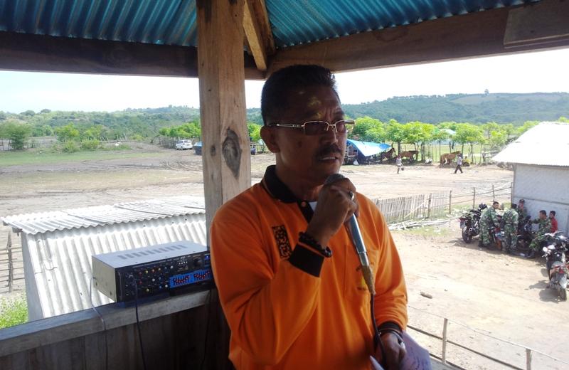 AM Imran SH, Ketua Panitia sekaligus Ketua Pordasi Sumbawa