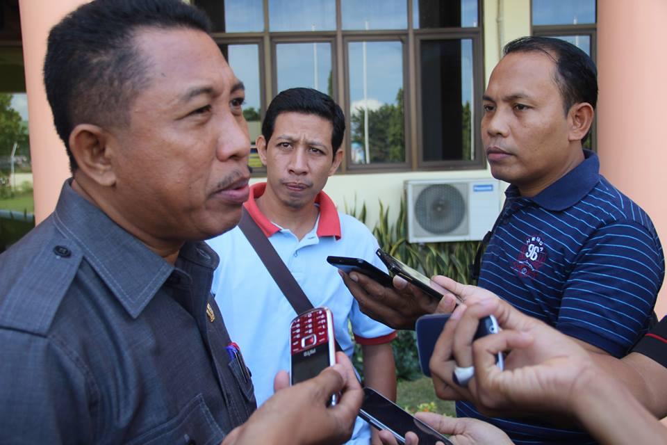 Ketua DPRD Sumbawa, Lalu Budi Suryata SP