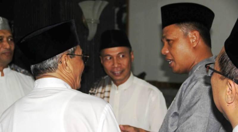 Danrem bersama bupati dan Wakil ketua DPRD H Ilham Mustami S.Ag