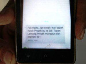 SMS kasus