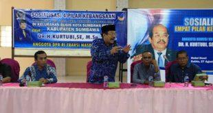 Dr. Kurtubi, Anggota Komisi VII DPR RI dari Fraksi Nasdem