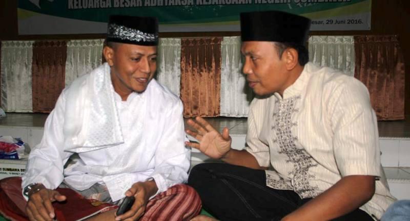 Ustad Faisal Salim saat diwawancarai SAMAWAREA