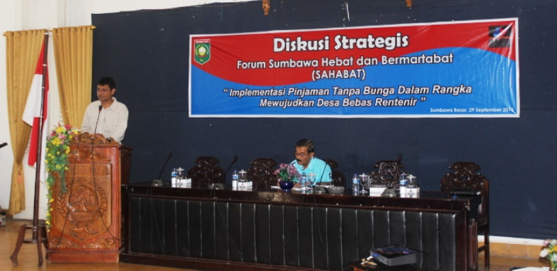 Koordinator Badan Pekerja Sahabat Center, Lukman Hakim, SP.,M.Si