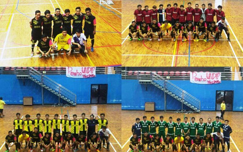 Team futsal fak. Psikologi UTS.
